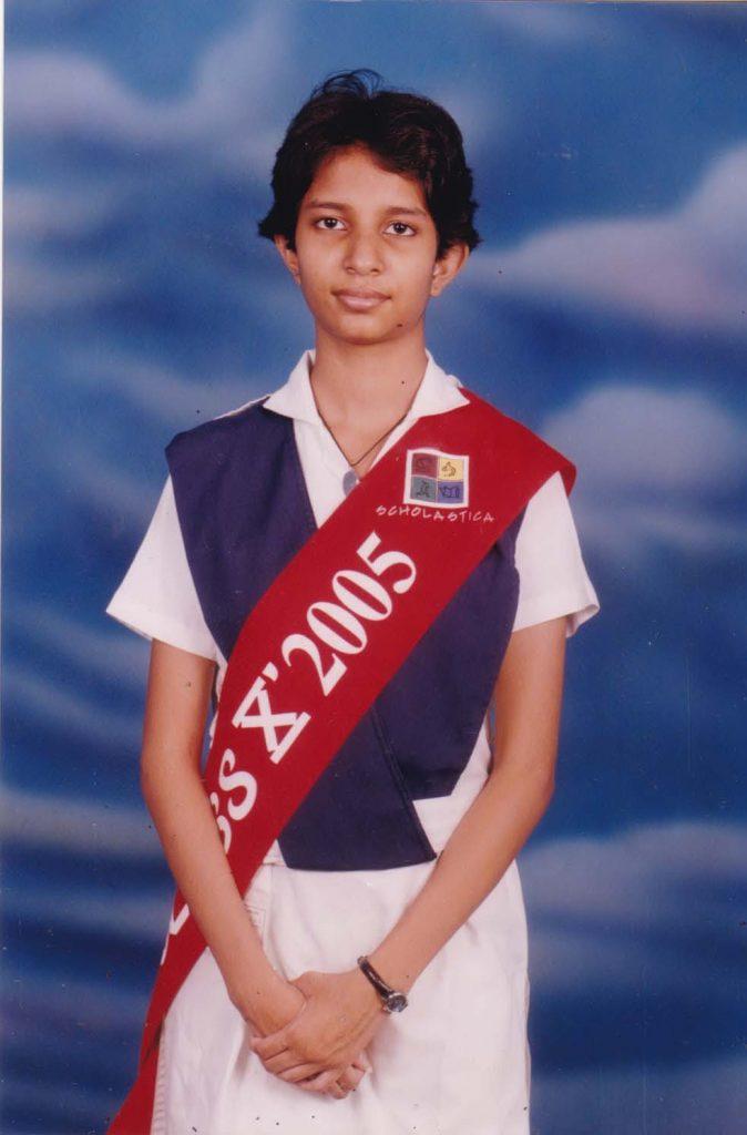 Graduating Grade X with distinction from Scholastica School, Dhaka, Bangladesh
