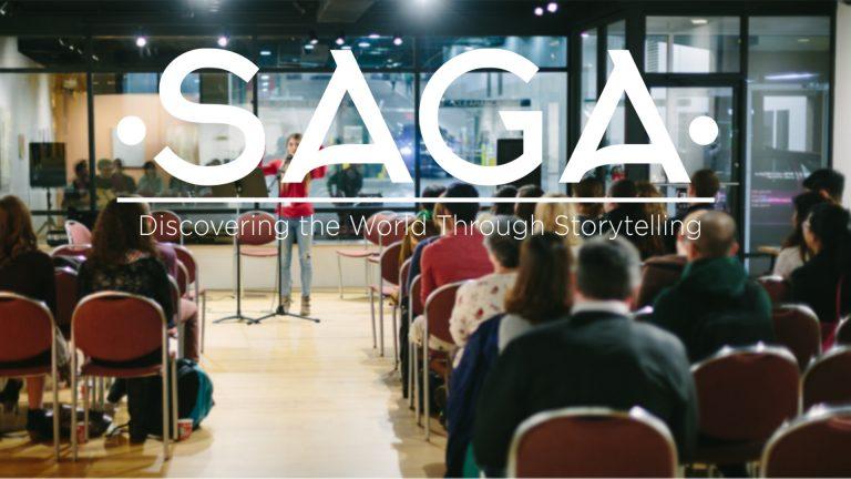 SAGA: Discover the World Through Storytelling
