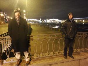 Alex on a Russian Bridge